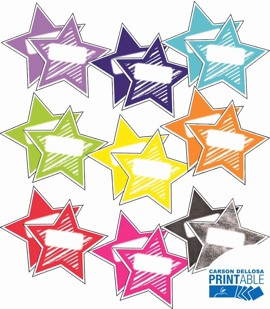 Free Printable Name Cards Lovely Twinkle Twinkle You Re A Star Shapes Printable Name Tags