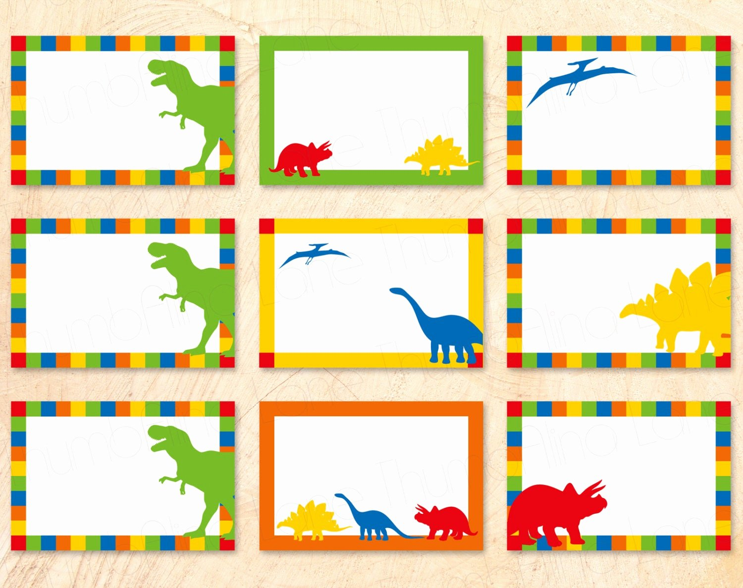 Free Printable Name Cards Unique Dinosaur Buffet Cards Food Tags Name Tags Diy T Rex Rawr