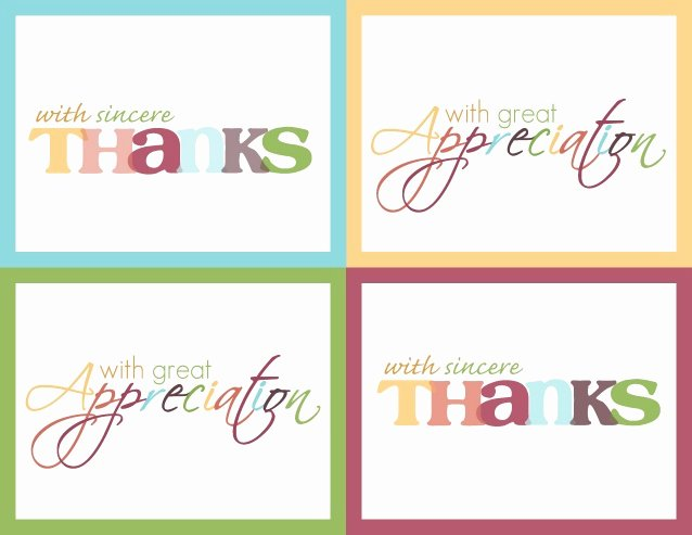"""Free Printable Note Cards Template Fresh Practice Thankfulness """"thank You Card"""" Printable"""