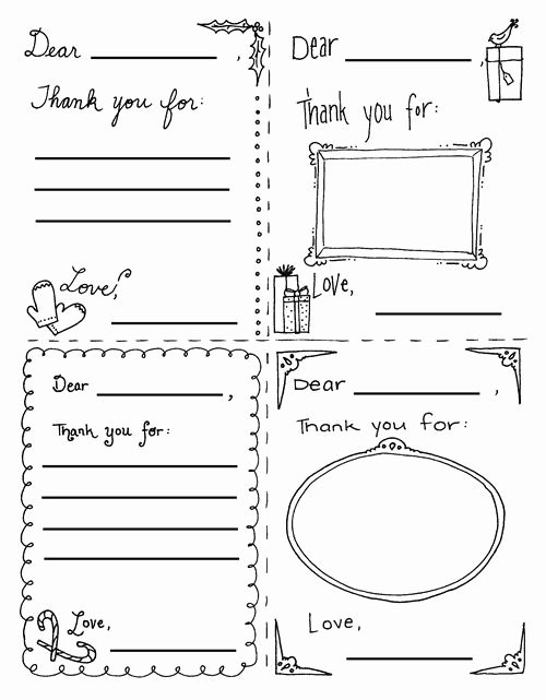 Free Printable Note Cards Template Inspirational 36 Best Printable Kids Thank You Notes Images On Pinterest
