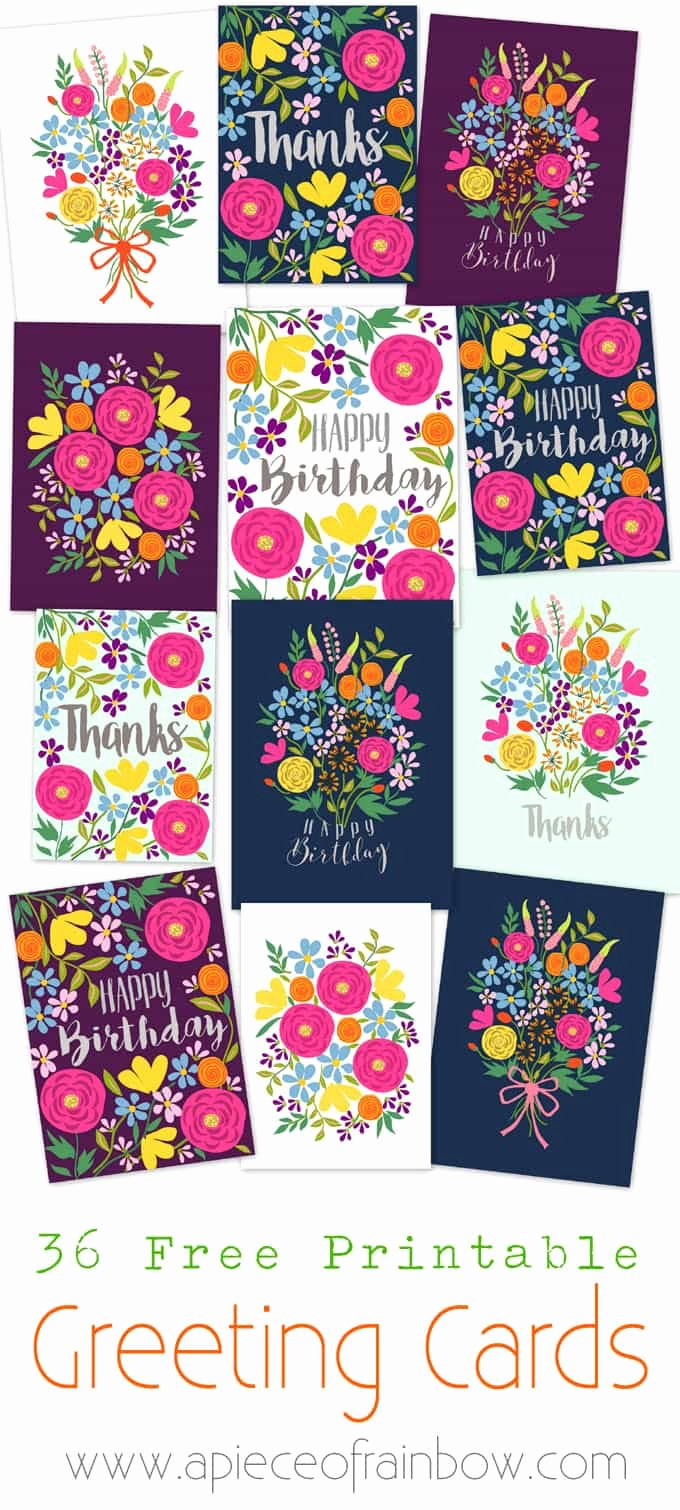 Free Printable Note Cards Template Unique Free Printable Happy Birthday Card with Pop Up Bouquet A