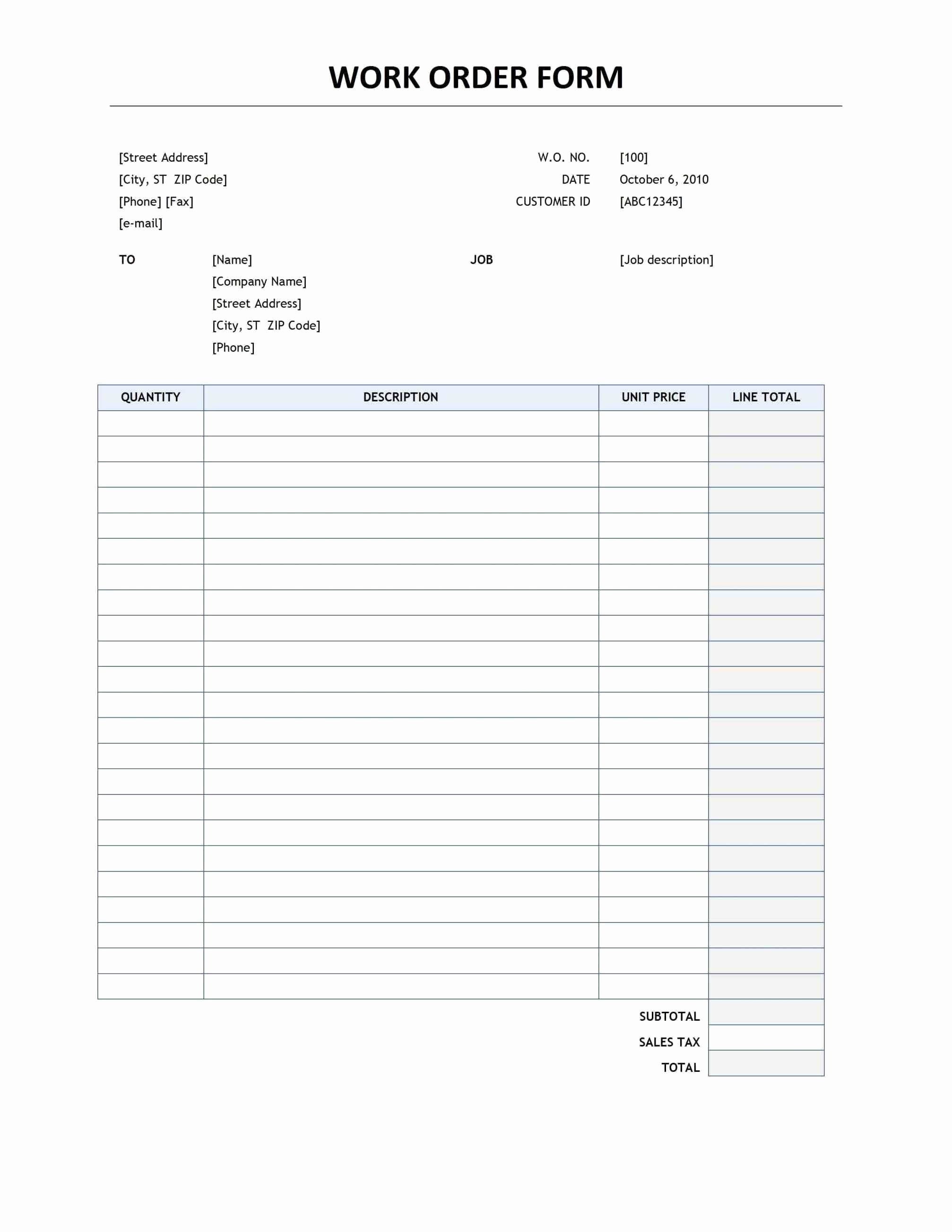 Free Printable Office forms Luxury are Simple Edit so Your Customers Will Be Making Custom In