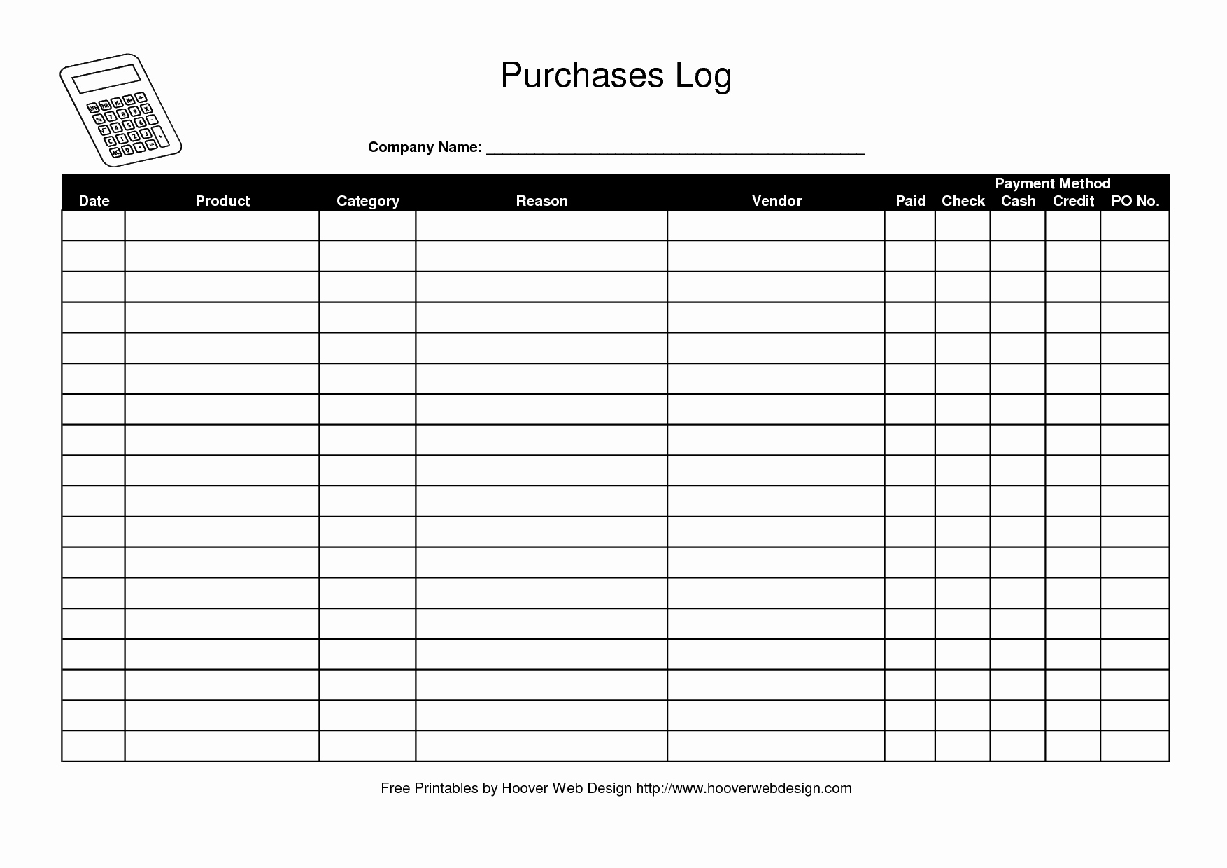 Free Printable Payment Log Awesome Best S Of Free Payment Record Template Free