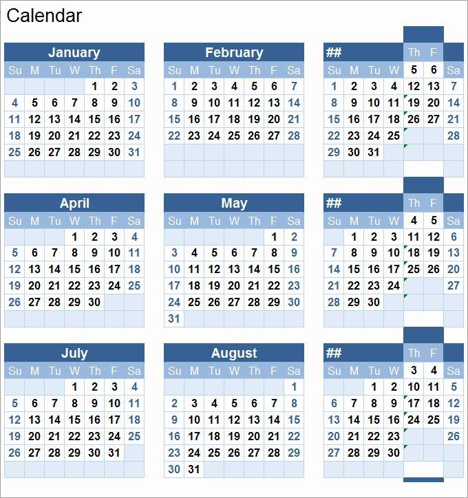 Free Printable Perpetual Calendar Elegant Perpetual Calendar Calendar Template