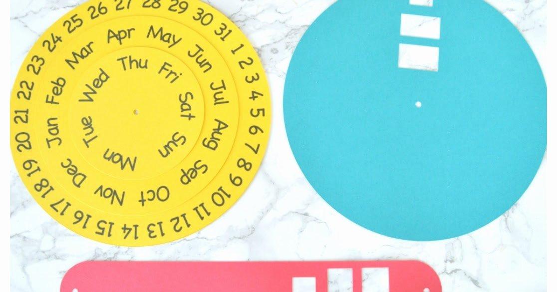 Free Printable Perpetual Calendar Elegant Vikalpah Diy Round Perpetual Calendar with Free Printable