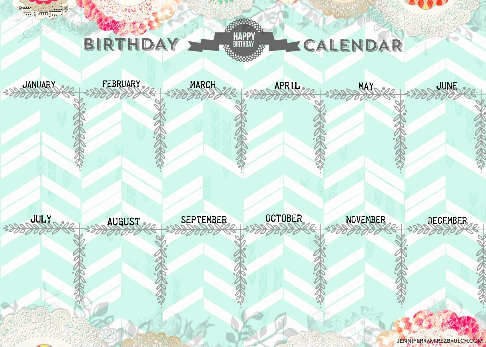 Free Printable Perpetual Calendar Fresh Free Printable Perpetual Calendar Planner Vintage Style