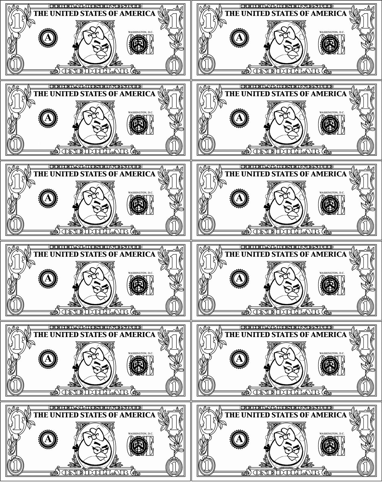 Free Printable Play Money Awesome Printable Play Money for Kids