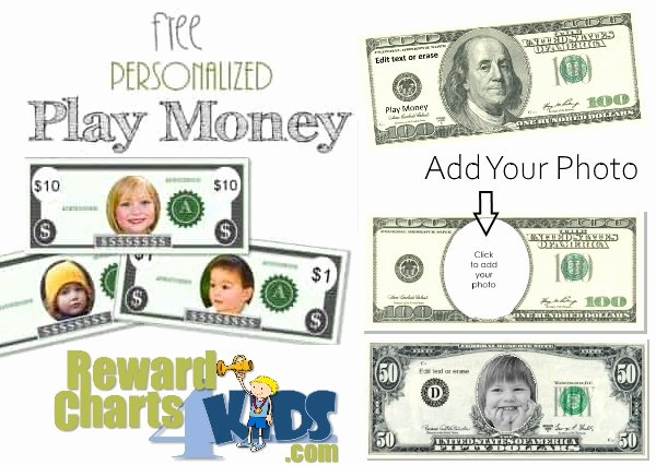 Free Printable Play Money Beautiful Free Play Money Printable Template