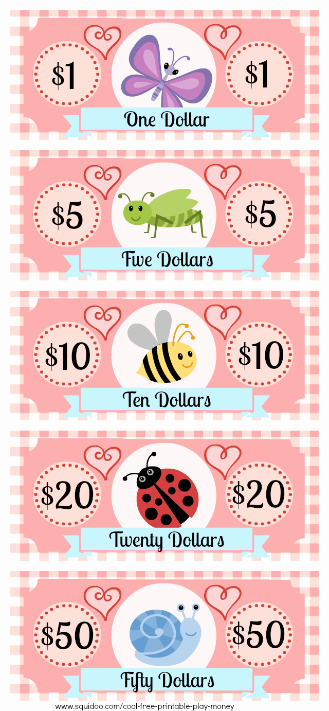 Free Printable Play Money Luxury Pin On Cool Ideas