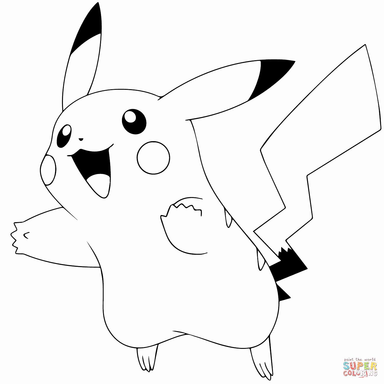 Free Printable Pokemon Pictures Elegant Pokémon Go Pikachu 025 Coloring Page