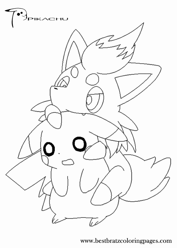 Free Printable Pokemon Pictures Fresh Free Printable Pikachu Coloring Pages for Kids