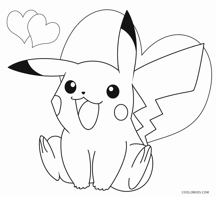 Free Printable Pokemon Pictures New Printable Pikachu Coloring Pages for Kids