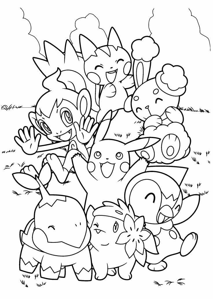 Free Printable Pokemon Pictures Unique top 60 Free Printable Pokemon Coloring Pages Line