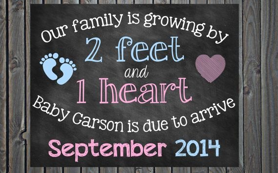 Free Printable Pregnancy Announcements Elegant Chalkboard Pregnancy Announcement Pregnancy Reveal 2