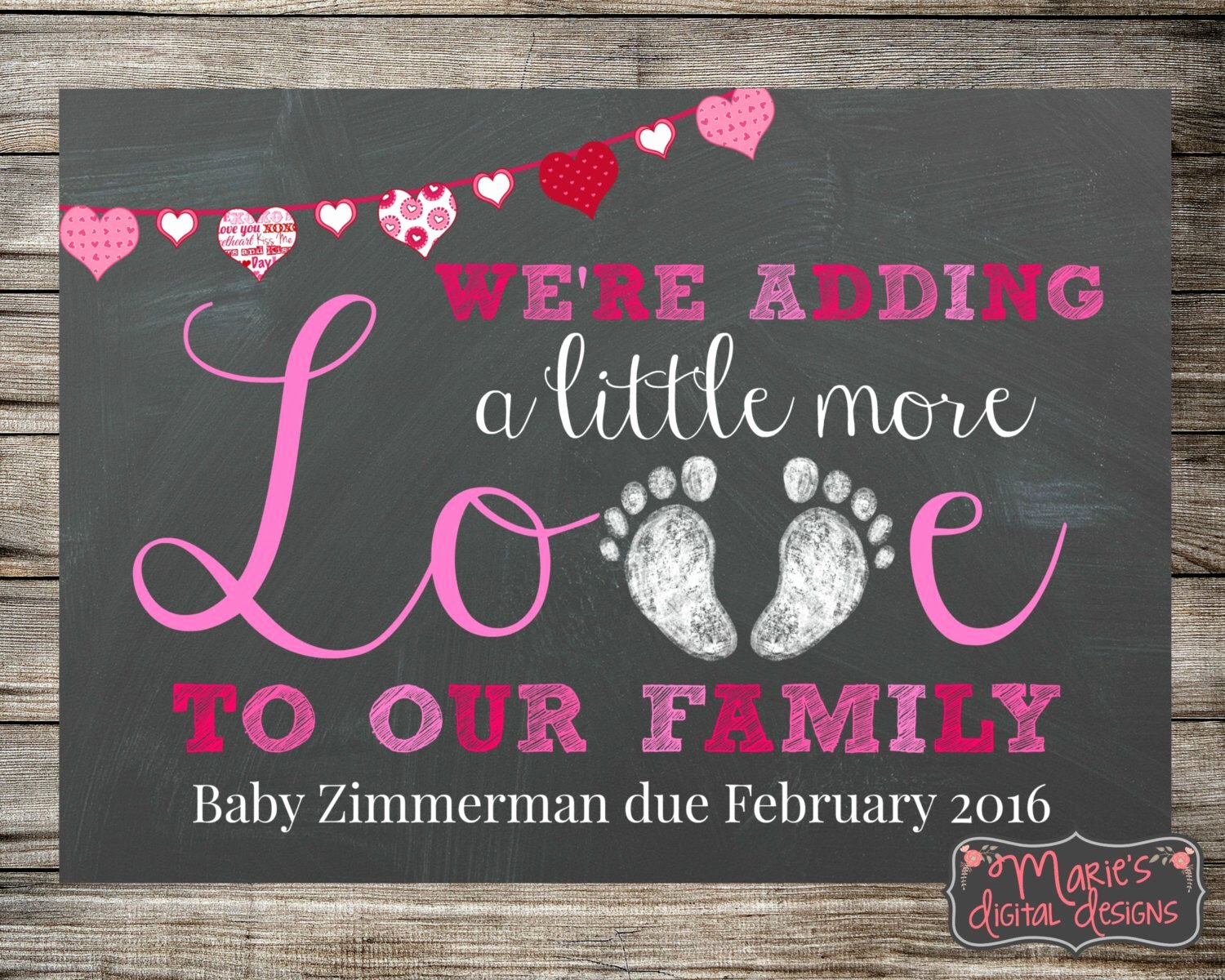 Free Printable Pregnancy Announcements Elegant Printable Pregnancy Announcement Adding Little More Love