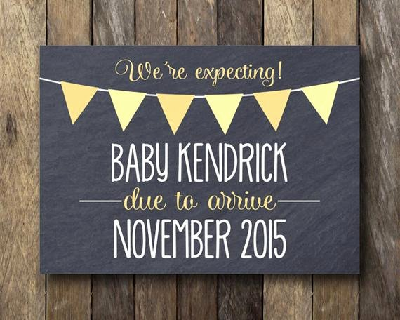 Free Printable Pregnancy Announcements Lovely Printable Pregnancy Announcement Chalkboard Pregnancy Reveal