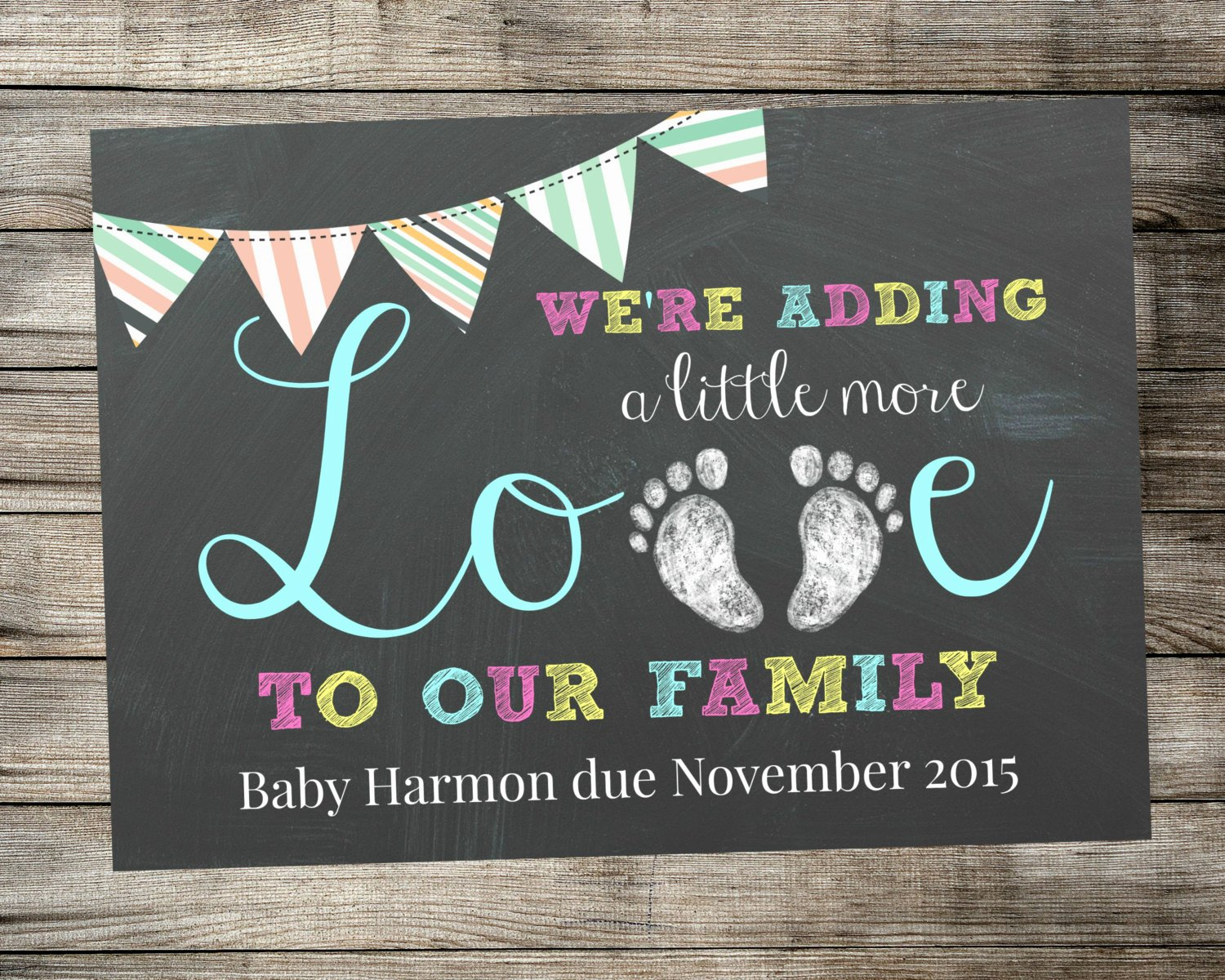 Free Printable Pregnancy Announcements Luxury Printable Pregnancy Announcement Adding Little More Love to