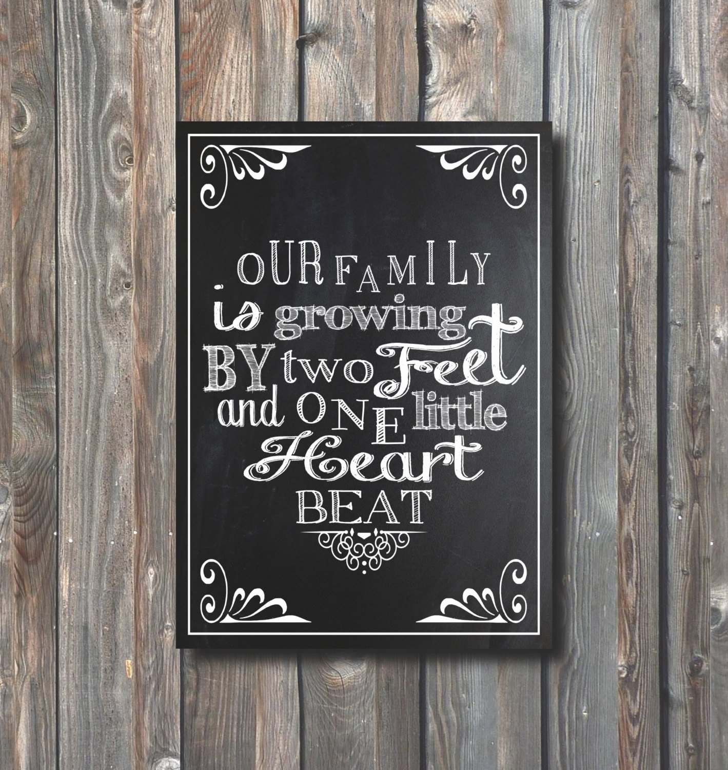 Free Printable Pregnancy Announcements New Printable Pregnancy Announcement Pregnancy Chalkboard