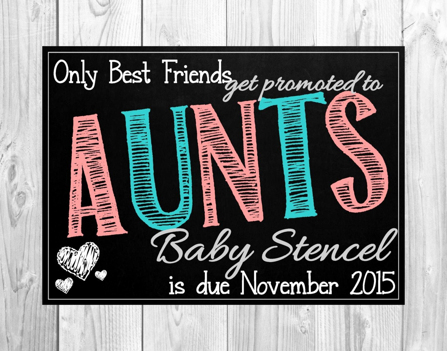 Free Printable Pregnancy Announcements Unique Printable Pregnancy Announcement Card for Best Friends Ly