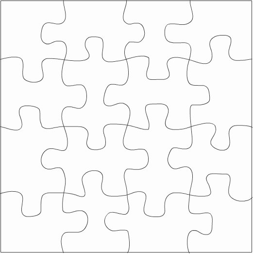 Free Printable Puzzle Pieces Template Awesome Free Puzzle Pieces Template Download Free Clip Art Free