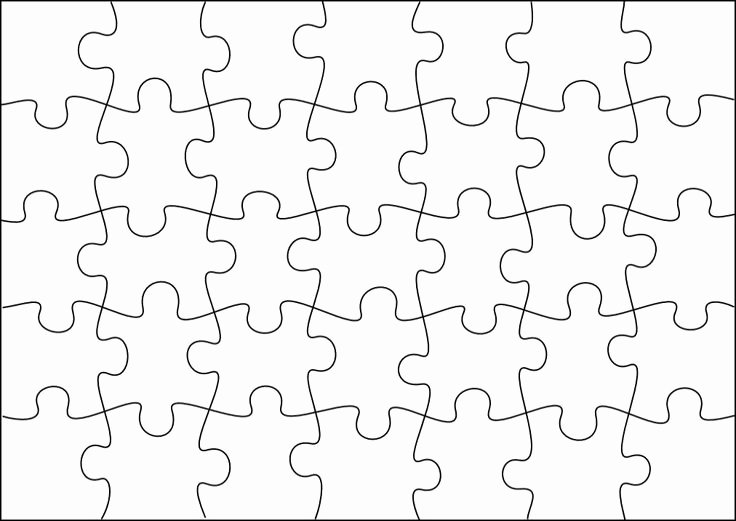 Free Printable Puzzle Pieces Template Fresh Free Puzzle Pieces Template Download Free Clip Art Free