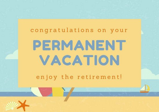 Free Printable Retirement Cards Beautiful Customize 43 Retirement Card Templates Online Canva
