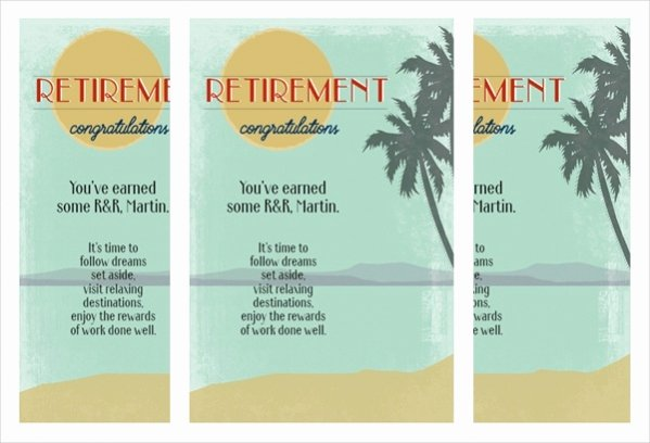 Free Printable Retirement Cards Lovely 23 Free Printable Card Templates Word Psd