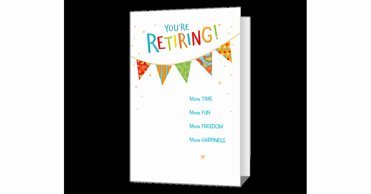 Free Printable Retirement Cards Luxury Happy Retirement Printable American Greetings