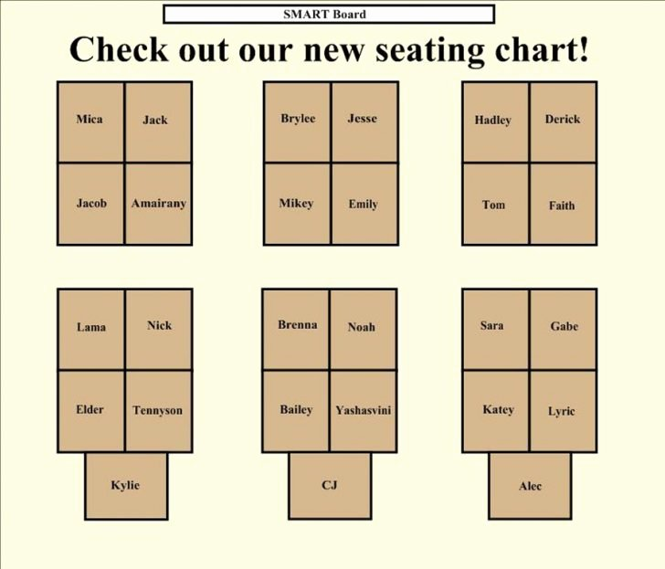 Free Printable Seating Chart Luxury Free Printable Seating Chart Pics – Elegant Diy Table