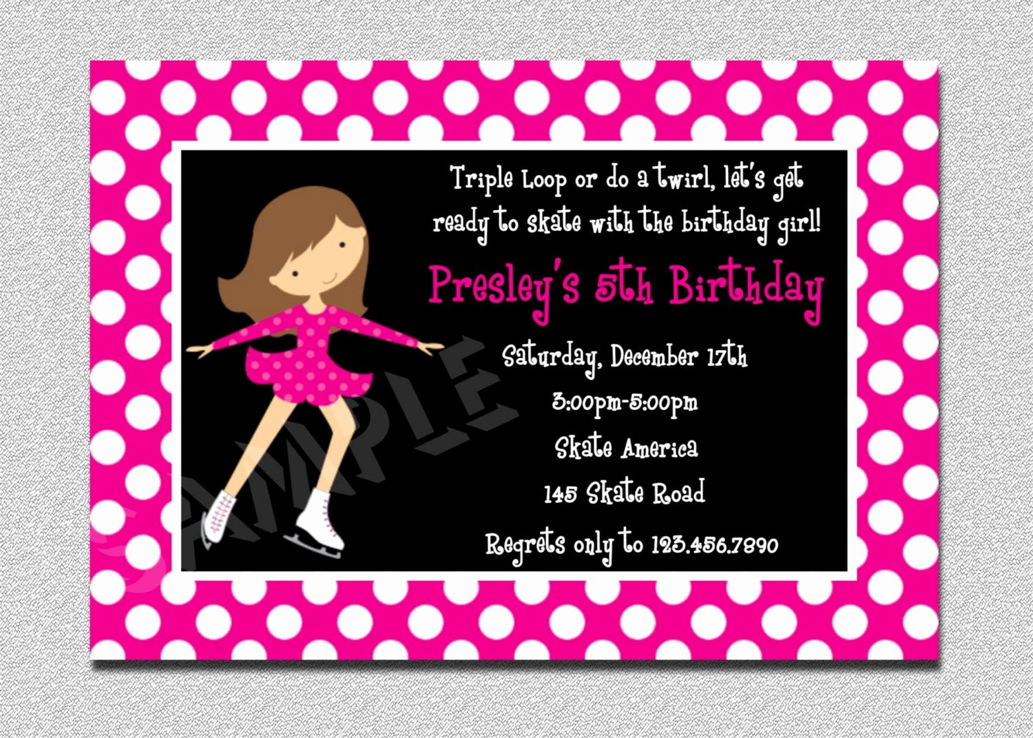 Free Printable Skating Party Invitations Best Of Ice Skating Birthday Invitations Ice Skating Party