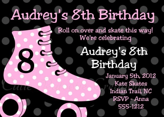 Free Printable Skating Party Invitations Inspirational Free Printable Roller Skating Party Invitation