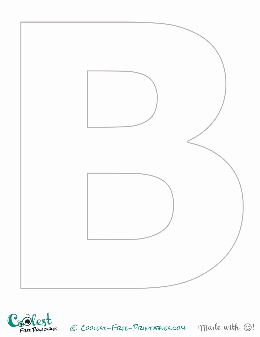 Free Printable Stencil Letters Awesome Free Printable Letter Stencils