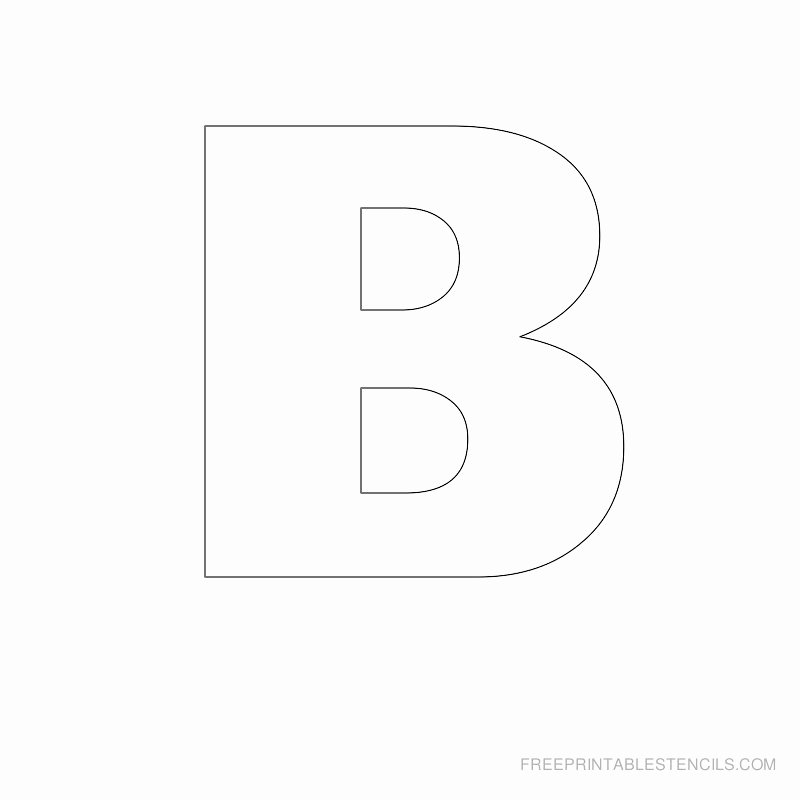 Free Printable Stencil Letters Best Of Big Letter Printable Stencils A to Z
