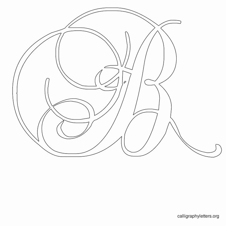 Free Printable Stencil Letters Best Of Free Printable Calligraphy Letter Stencils to Print
