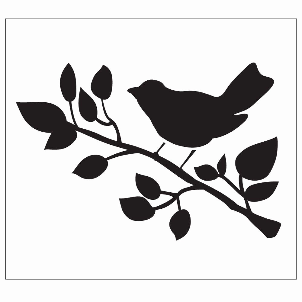 Free Printable Stencils for Painting Best Of Folkart Bird Painting Stencils the Home Depot