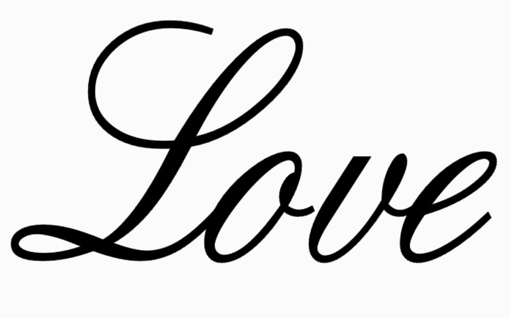 "Free Printable Stencils for Painting Fresh ""love"" Stencil Stencils Saying Word Flexible Template"