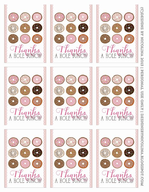 Free Printable Thank You Tags Beautiful Designs by Nicolina Tip Tuesday 17 Saying Thank You