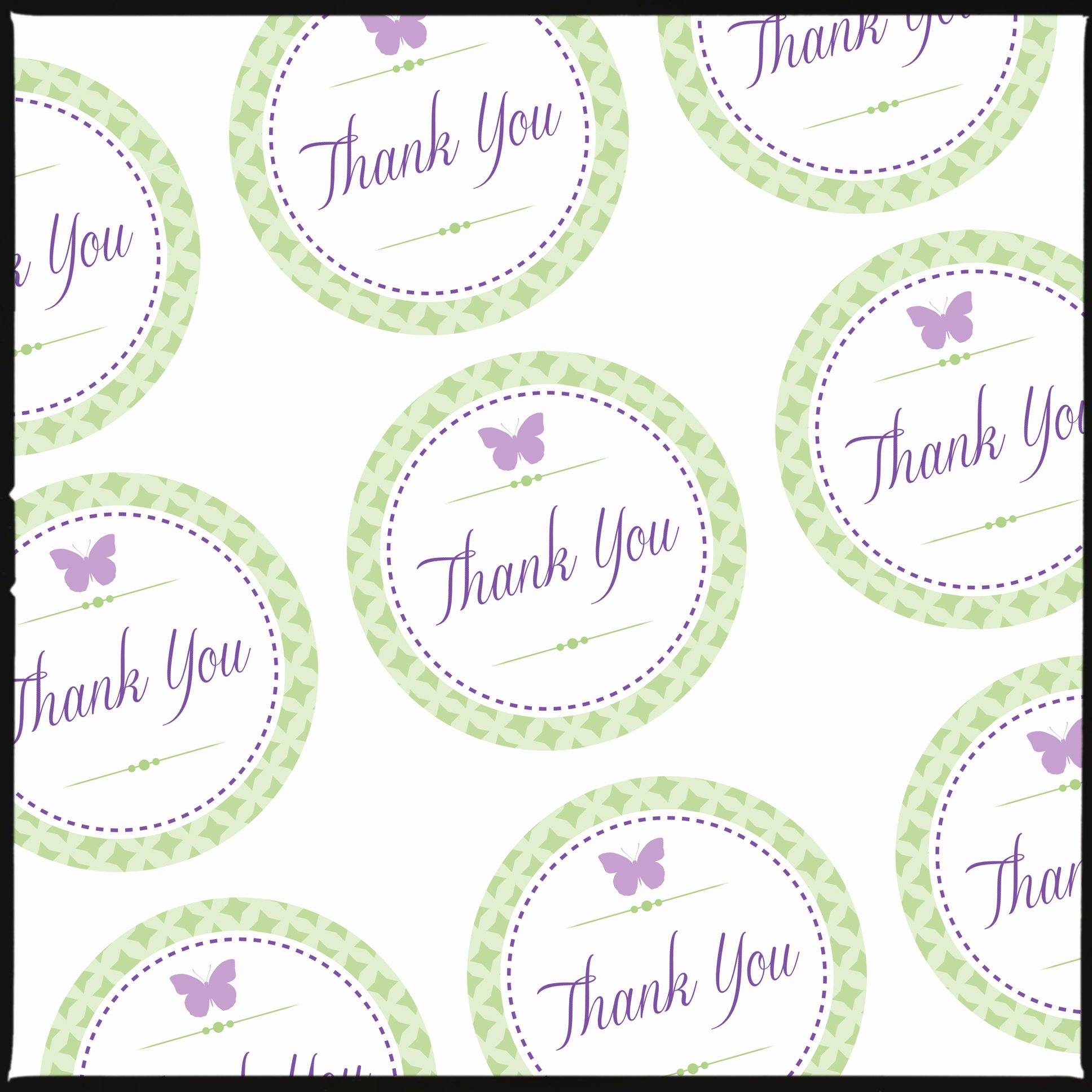 Free Printable Thank You Tags Best Of Thank You Label Template