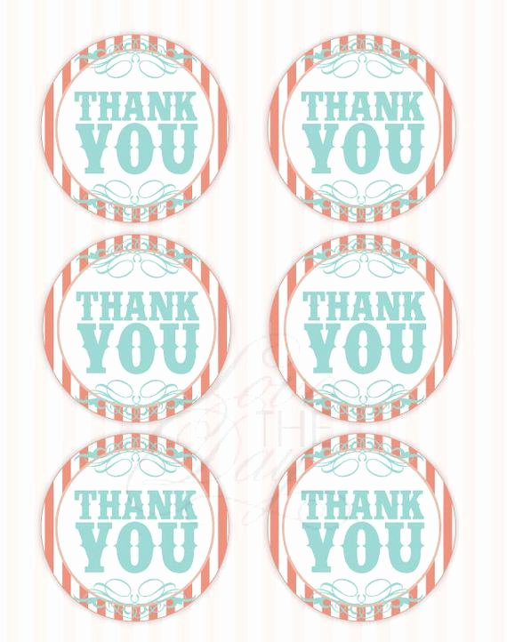 Free Printable Thank You Tags Best Of Vintage Circus Party Printable Thank You Tags Instant