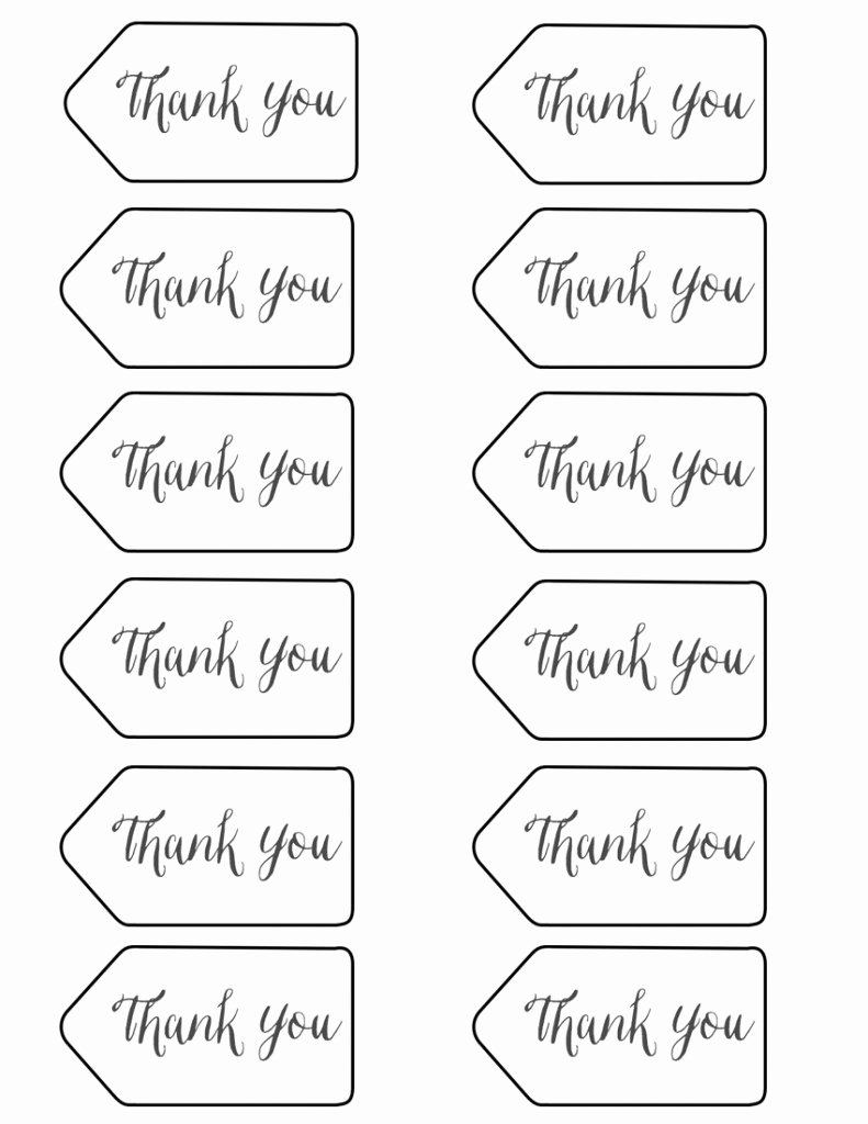 Free Printable Thank You Tags Elegant Styled X3 Branch & Twig Pencils Stacy Risenmay