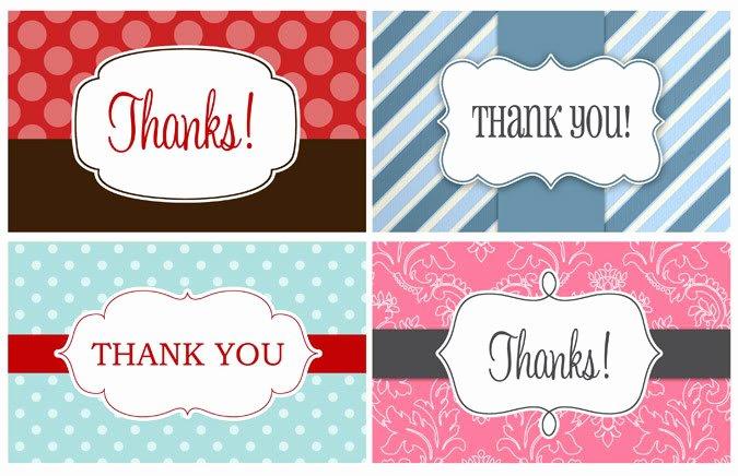 Free Printable Thank You Tags Fresh 14 Printable Thank You Gift Tags