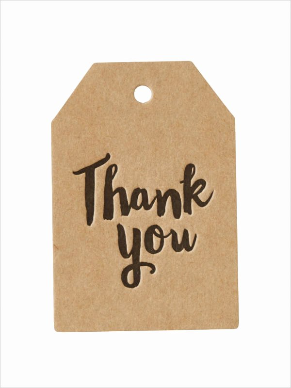 Free Printable Thank You Tags Inspirational Free Printable Gift Tag 8 Free Psd Vector Ai Eps
