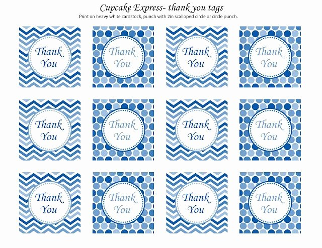 Free Printable Thank You Tags Unique Free Printable Thank You Cards Can Be Made Into Tags or