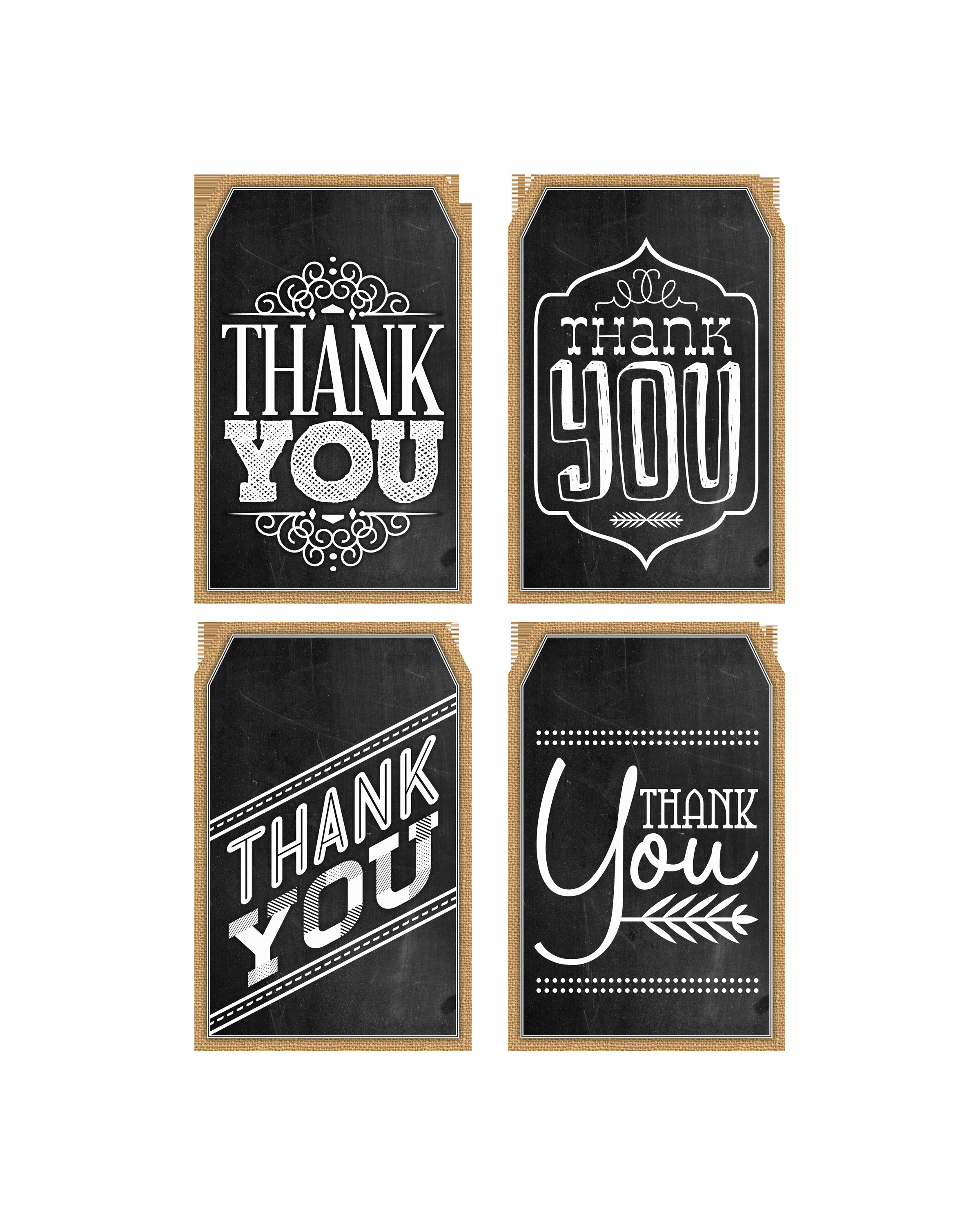 Free Printable Thank You Tags Unique Free Printable Thank You Chalkboard Tags & A Happy