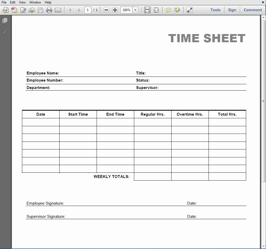 Free Printable Time Cards Luxury 8 Best Of Blank Printable Timesheets Free