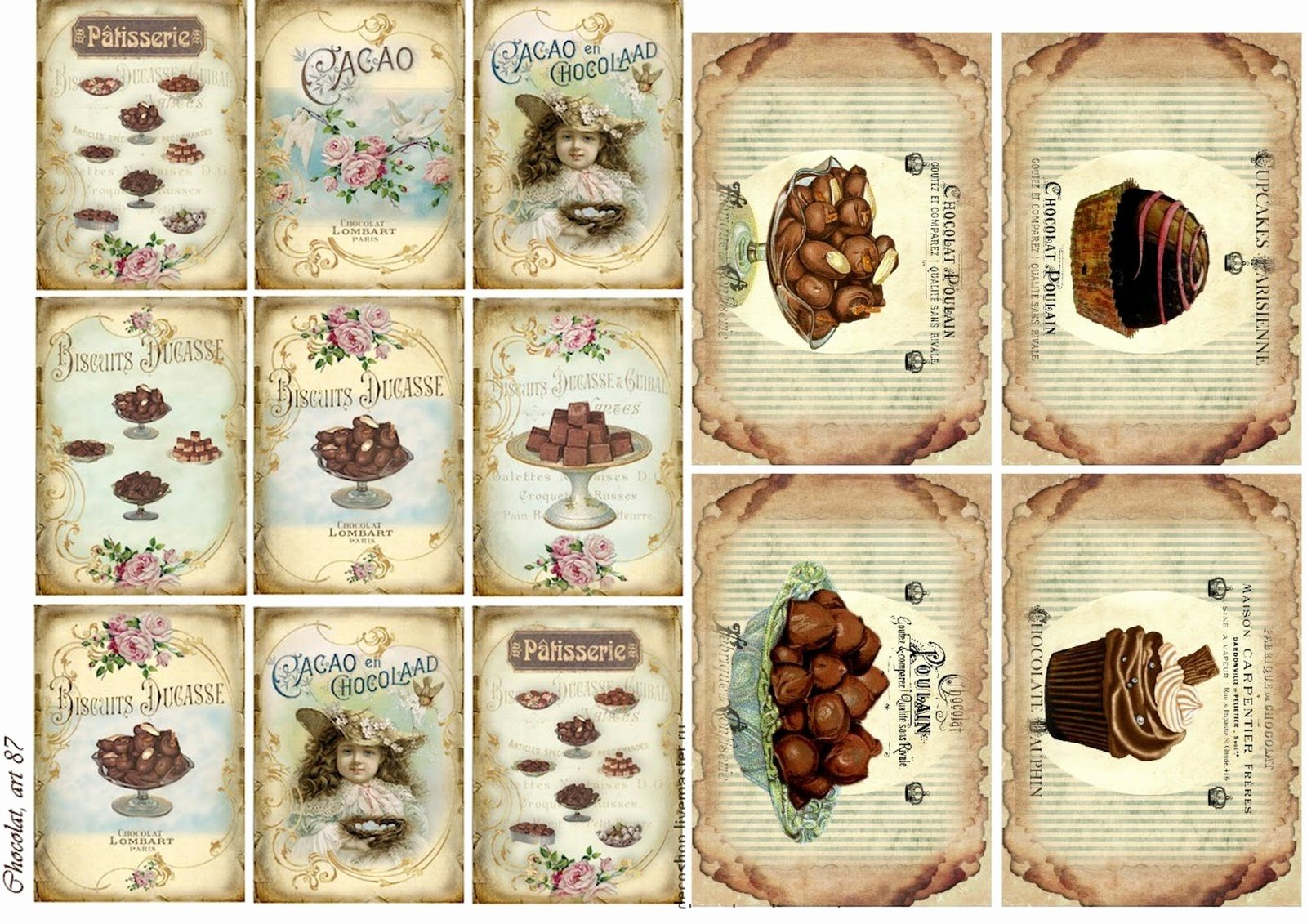 Free Printable Vintage Labels Lovely Free Printable Chocolate Vintage Labels