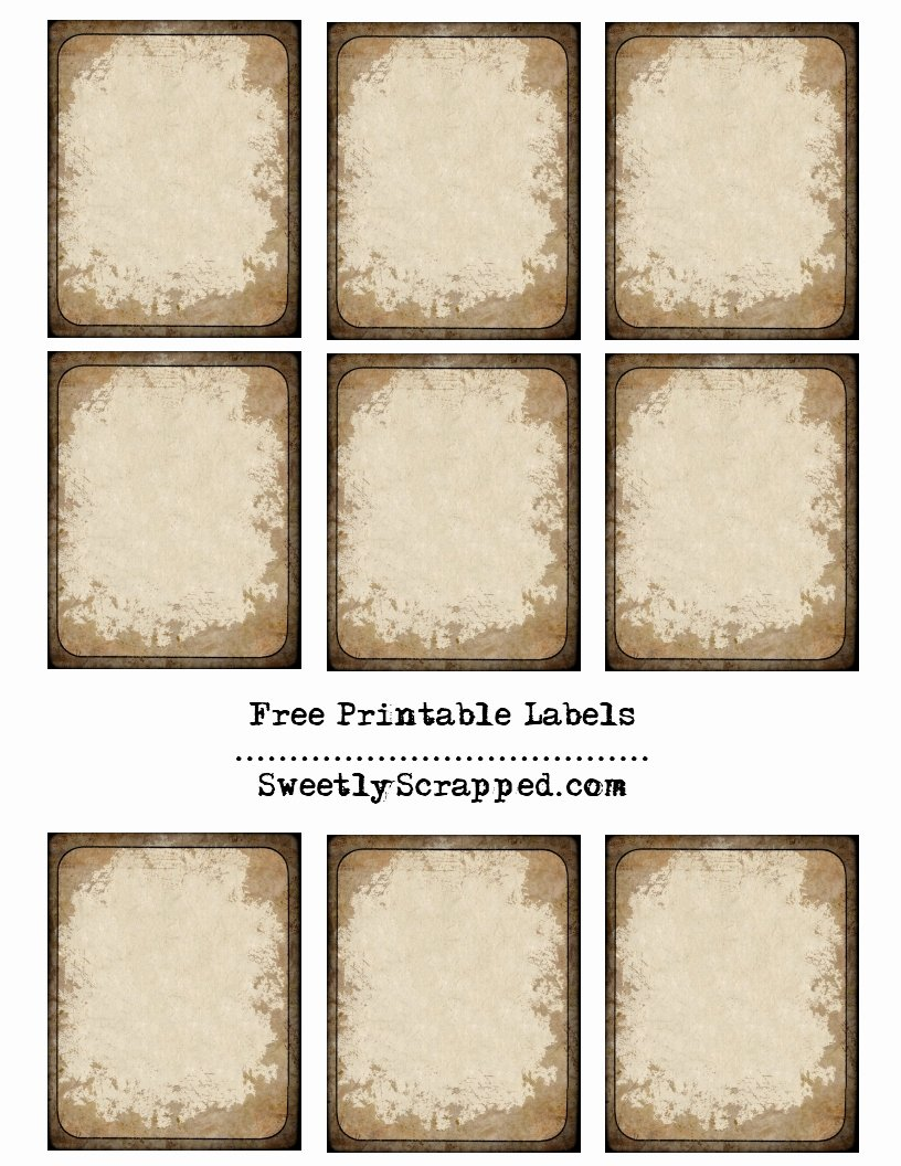 Free Printable Vintage Labels Lovely Labels Sweetly Scrapped S Free Printables Digi S and
