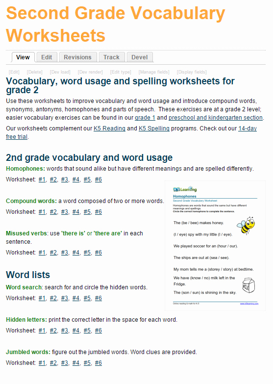 Free Printable Vocabulary Worksheets New New Printable Vocabulary Worksheets