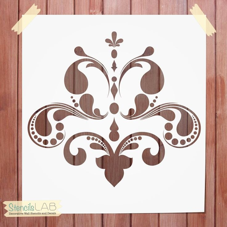 Free Printable Wall Art Stencils Best Of Decorative Wall Stencil Damask Stencil for Wall Decor