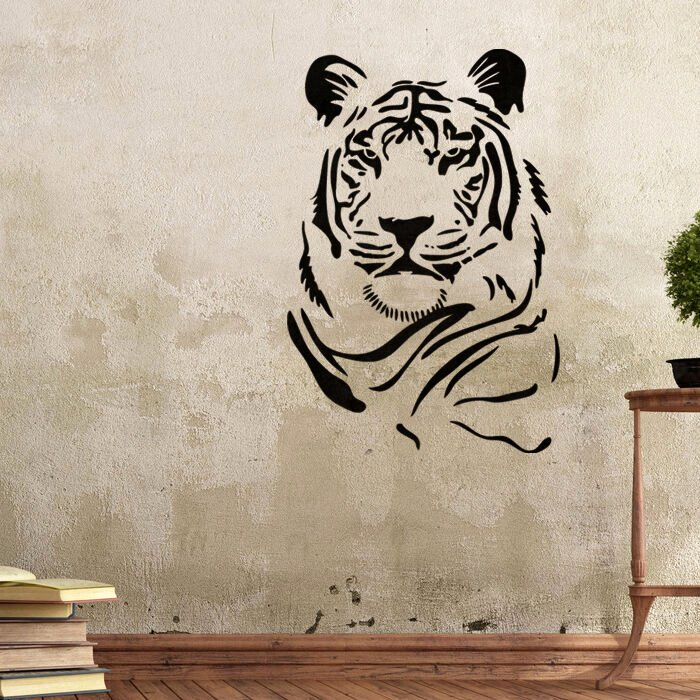 Free Printable Wall Art Stencils Best Of Wall Stencils Tiger Stencil Template for Graffiti Better